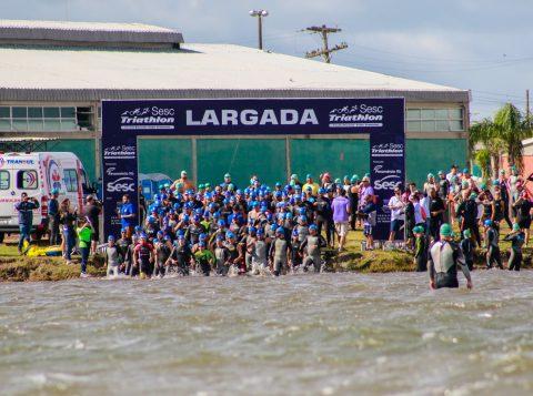 Esta quarta-feira é o último dia para se inscrever no Sesc Triathlon 2019