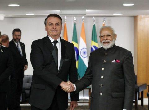 Bolsonaro confirma visita à Índia em janeiro para ampliar comércio e cooperação
