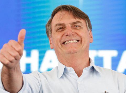 Na Paraíba, Bolsonaro disse que o Brasil recupera a confiança e que o Nordeste receberá investimentos