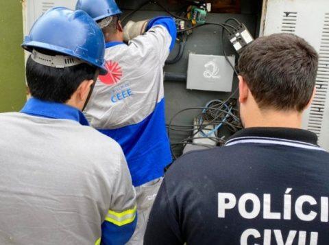 Dono de lancheria é preso por furto de energia em Porto Alegre