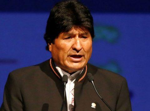 """Evo Morales classifica a situação na Bolívia como """"genocídio"""""""