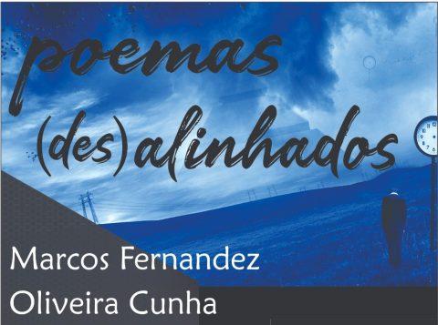 Poemas (Des) Alinhados, de Marcos Cunha, terá lançamento durante a 65ª Feira do Livro de Porto Alegre
