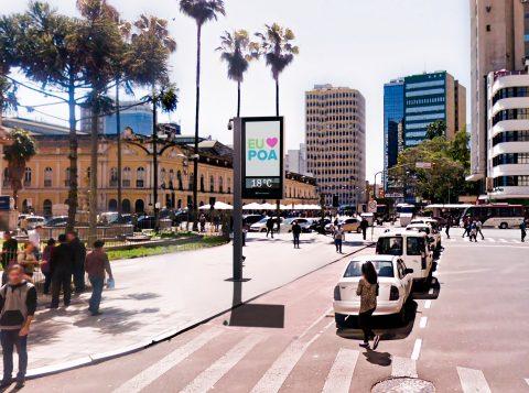 Relógios de rua instalados sem autorização devem ser retirados em Porto Alegre