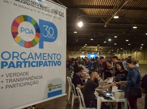 Novos conselheiros do Orçamento Participativo serão diplomados em 6 de dezembro em Porto Alegre