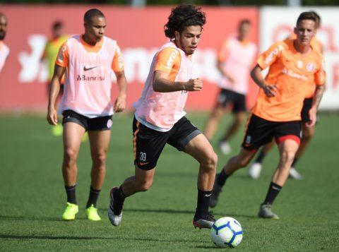 O Inter se reapresentou e iniciou a sua semana de treinamentos