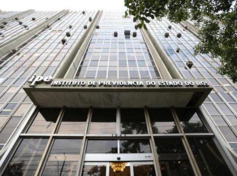 Princípio de incêndio é registrado em prédio do Instituto de Previdência do Estado