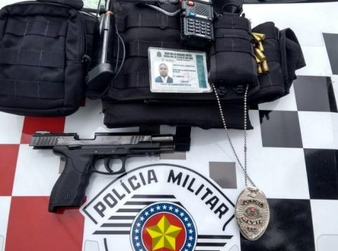 Falso policial trabalhou durante um ano em uma delegacia de São Paulo