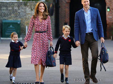 Parece que Kate Middleton e o príncipe William tem dois pequenos artistas na família