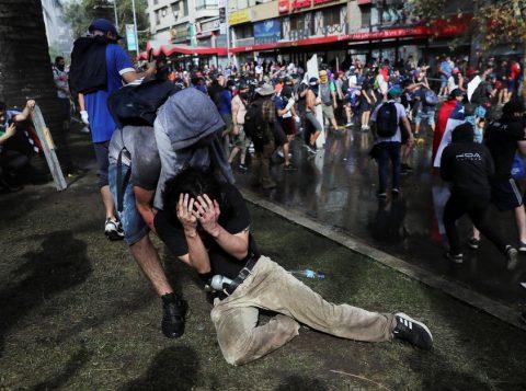 Mais de 200 pessoas perderam a visão em protestos no Chile