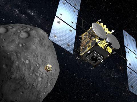 Sonda japonesa parte de asteroide em direção à Terra