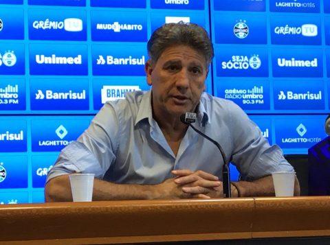 """Renato deixa """"recado"""" sobre a necessidade da contratação de reforços pelo Grêmio"""