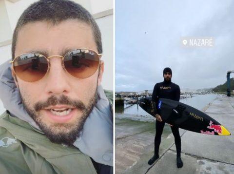 Pedro Scooby sofre grave acidente no mar em Portugal