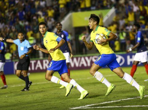 Brasil derrota a França por 3 a 2 e disputará a final do Mundial Sub-17 contra o México