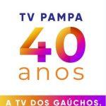 LOGO TV PAMPA 40 ANOS